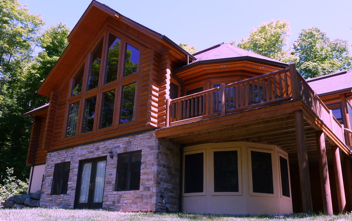 Chalet for rent mont tremblant luxury condo tremblant louer - Summer house plans delight relaxation ...